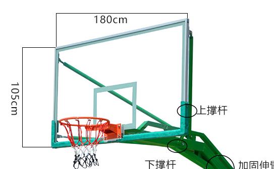 На открытом воздухе стандарт баскетбол доска закалённое стекло на открытом воздухе для взрослых баскетбол спинодержатель алюминиевых сплавов упаковка сторона баскетбол blue box доска