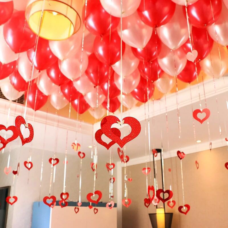 Cartoon English Alphabet New House Decoration Balloon Wedding Supplies Package Wedding Room Layout Wedding Decoration Event & Party Festive & Party Supplies