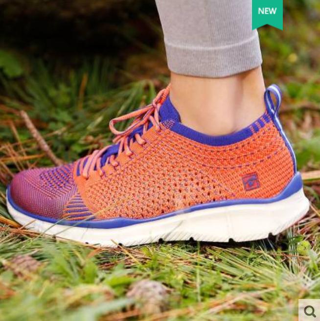 探路者 KFFF82370 一体飞织 女式户外跑步鞋 36-39码 天猫优惠券折后¥109包邮(¥499-390)36~39码2色可选