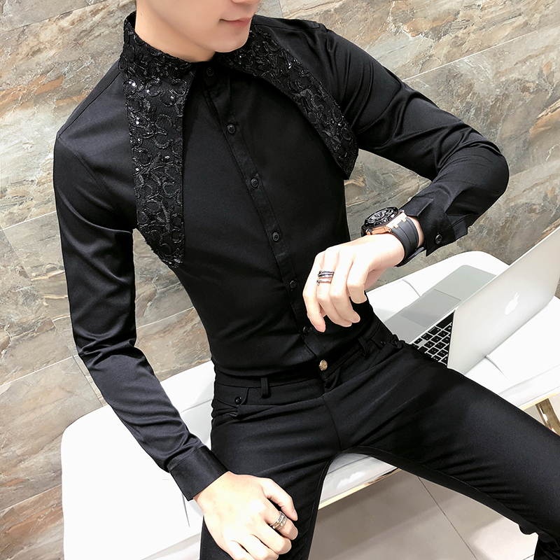 Spring Male Character Lace Sti...