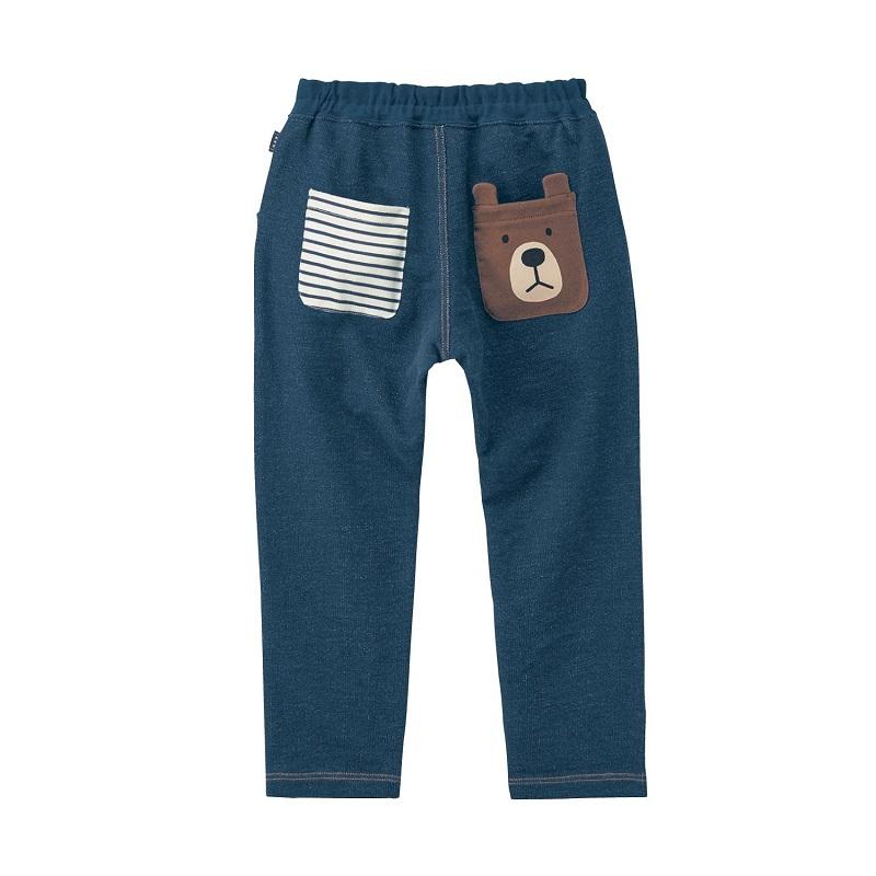 日本千趣会春夏男童动物图案休闲纯棉哈伦裤
