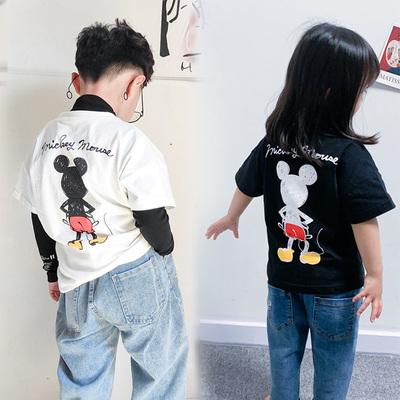 全尺寸同价儿童纯棉短袖T恤