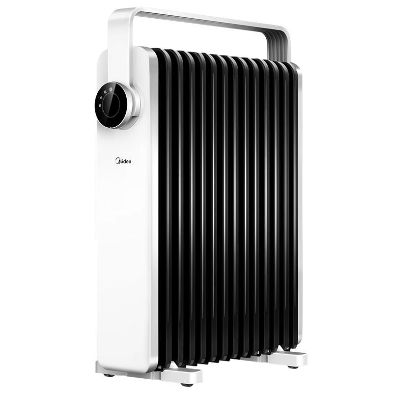 美的油汀取暖器家用 节能 省电暖气片烤火炉油丁酊速热暖风机卧室
