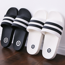 Anti slippery soft bottom men bathroom home bath summer household couple cool slippers