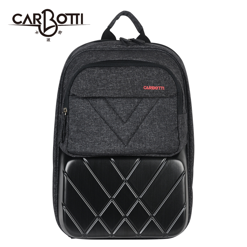 717d229f98e0 carbotti Capo hard shell backpack men s tide bag 14-inch computer Travel  Backpack college backpack