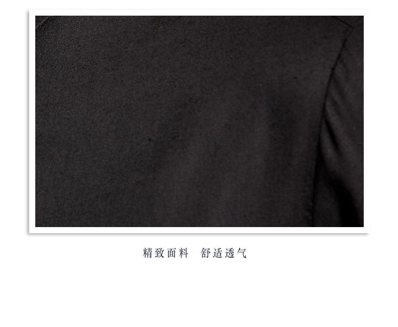 Italian tree Chinese linen shirt print men's long-sleeved top fashion business shirt youth trend jacket (Dark color 170/M) 39 Online shopping Bangladesh
