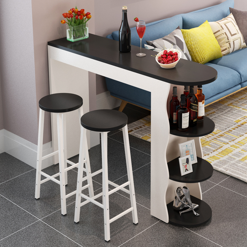 Nordic Small Bar Table Home Partition Cabinet Modern Minimalist Wall  Creative Bar Counter Living Room Wine ...