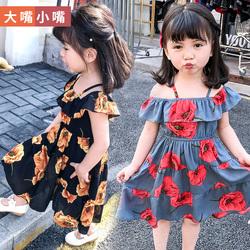 女童连衣裙夏装2018新款中小童韩版夏季小女孩裙子时尚洋气公主裙