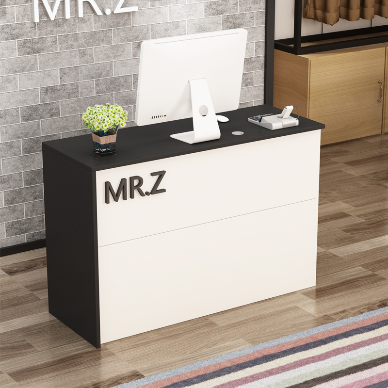 Cashier Counter Mini Minimalist Modern Mini Bar Table Continental Flat  Clothing Salon Reception Front Desk