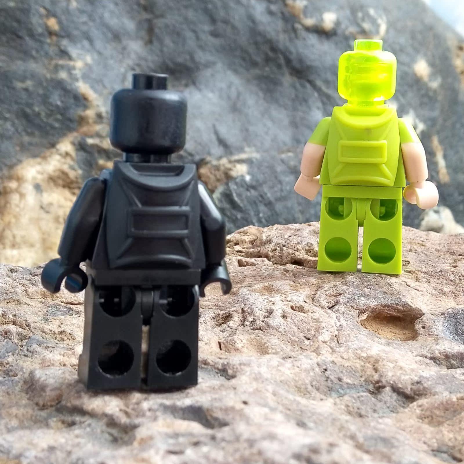 LEGO乐高人仔零配件12897(6159567)黑色书包背包人仔穿戴设备