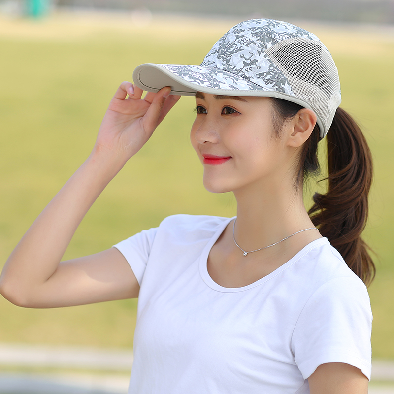 1a59f62211b Hat female summer Korean wild cap sunscreen baseball cap sun hat cover face UV  sun hat