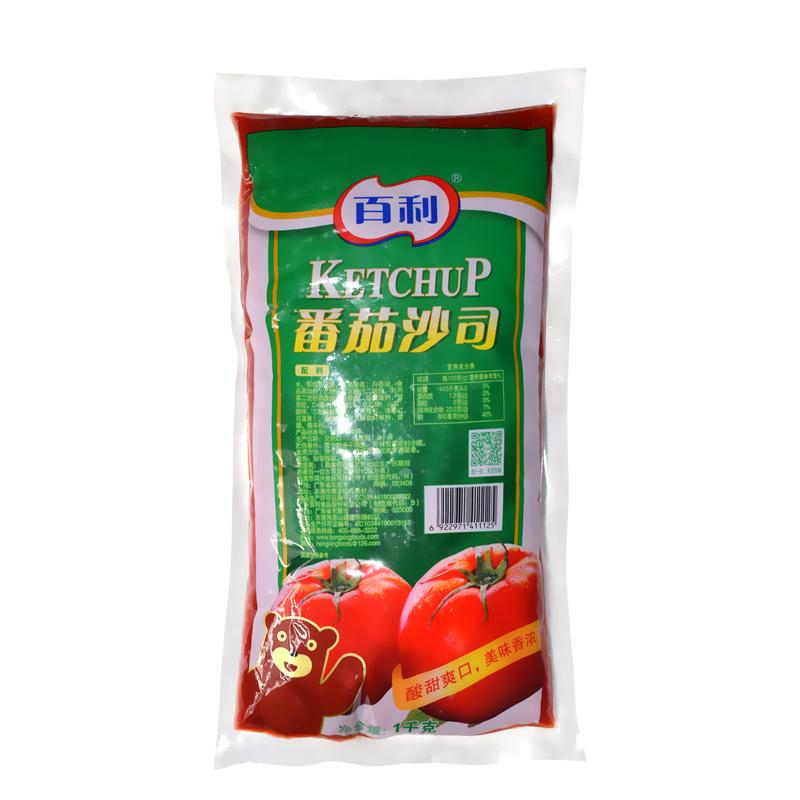 百利番茄酱1kg*12袋/箱