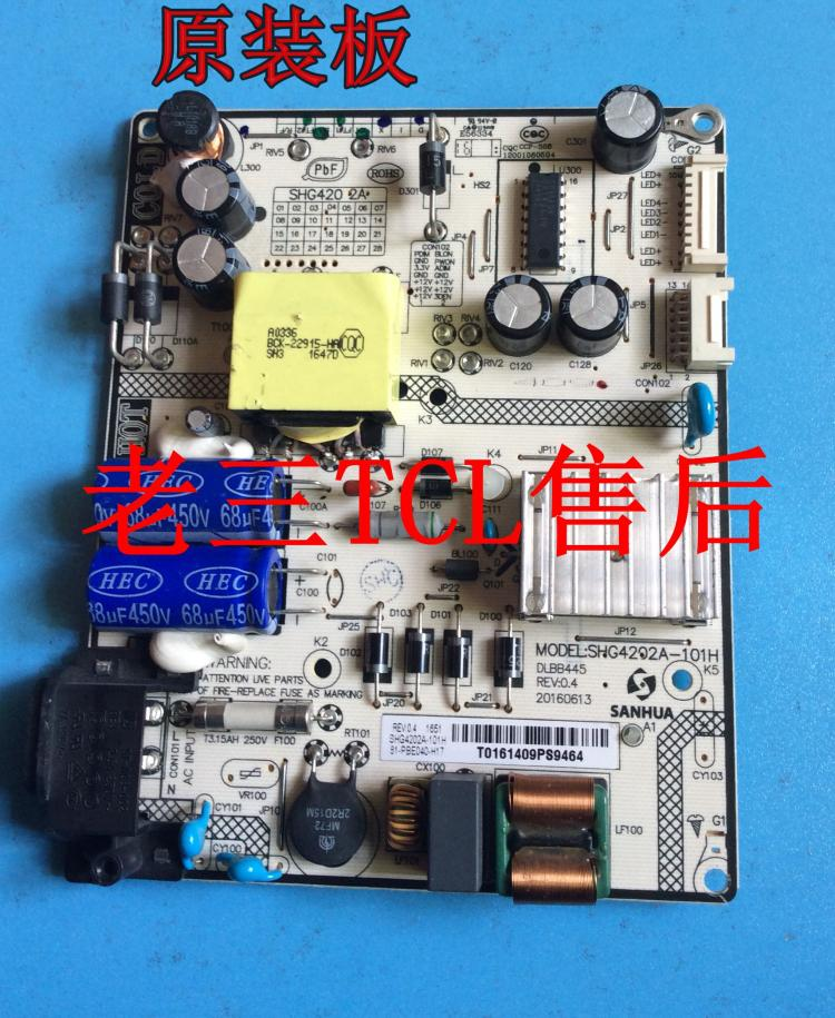Original TCL L40E5800A-UD power board SHG4202A-101H 81-PBE040-H17
