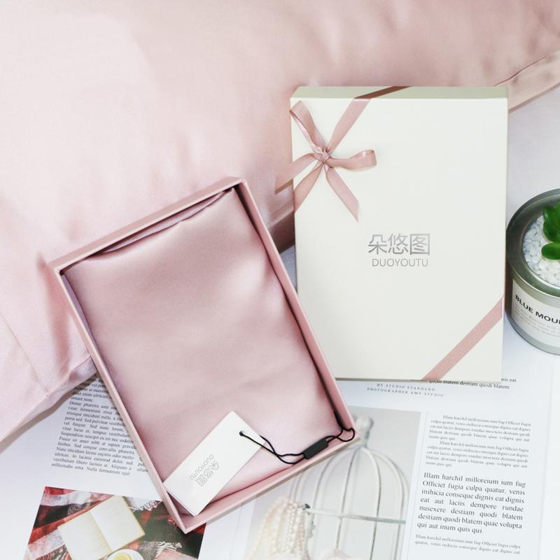 奢华礼盒包装~真丝氨基酸美容枕巾