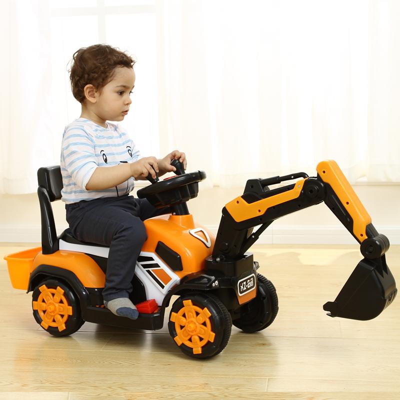 默丝咔笛 儿童挖掘机玩具车 天猫优惠券折后¥105包邮(¥115-10)3色可选