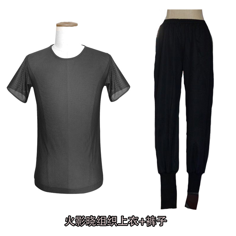 Naruto Xiao organization cosplay shirt pants sports casual pants ferret didara Xiao T-shirt clothing clothing
