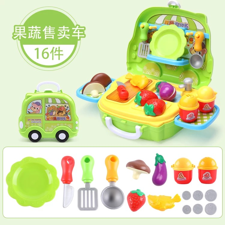 Fruit And Vegetable Suitcase (16 Gadgets)
