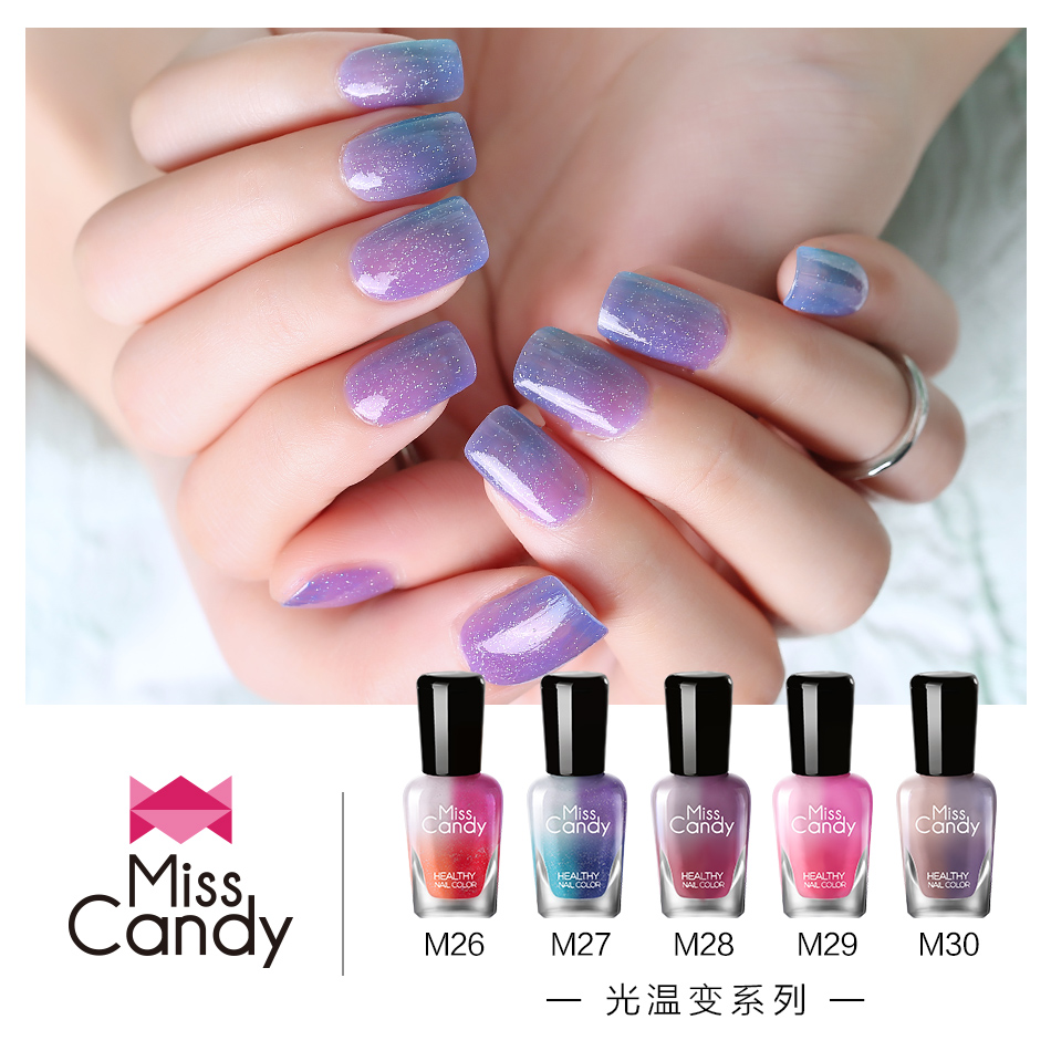 USD 33.96] Miss Candy health refers to the color of peelable nail ...