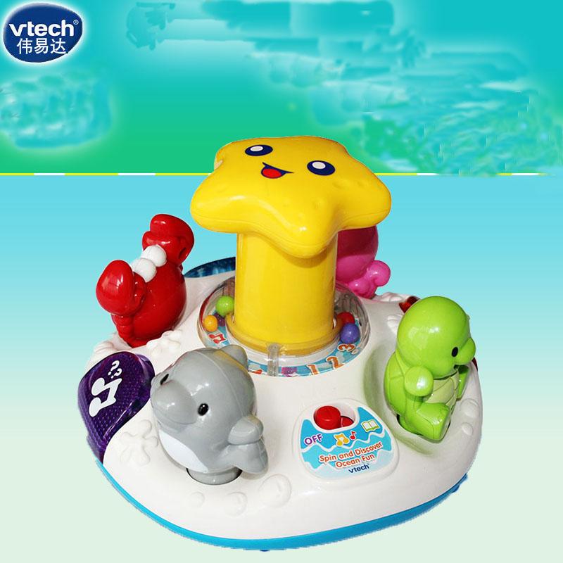 Chính hãng vtech VTech Ocean Park Vui nhộn Bé học sớm Tiếng Anh Đồ chơi học tập Đồ chơi giáo dục - Khác