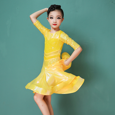 Girls Latin Dance Dresses Latin dance suit for children and girls competition performance suit for Latin dance competition suit for professional performance suit dress