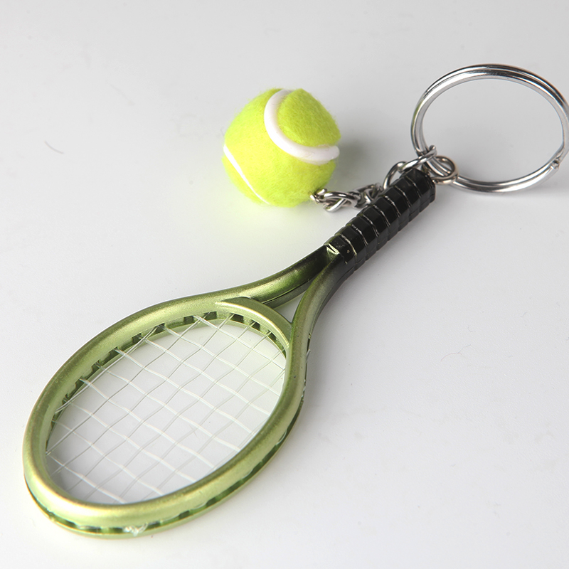 Usd 1170 gift tennis pendant jewelry tennis racket keychain lightbox moreview lightbox moreview mozeypictures Image collections