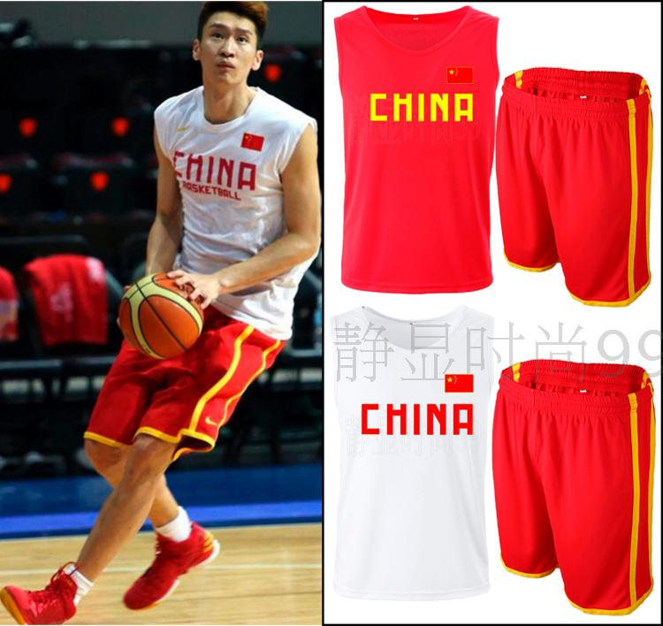 b53f820aba8 CHINA China men's basketball pants basketball shorts national team pants  CBA sports shorts basketball clothing custom-made