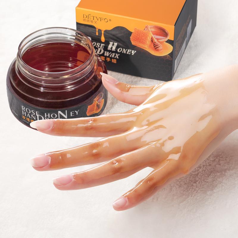 德德维芙手部手膜补水嫩白脚套去蜂蜜死皮保湿女手蜡角质保养护理