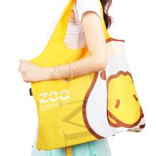 【宜洁】单肩手提购物袋简约旅行袋