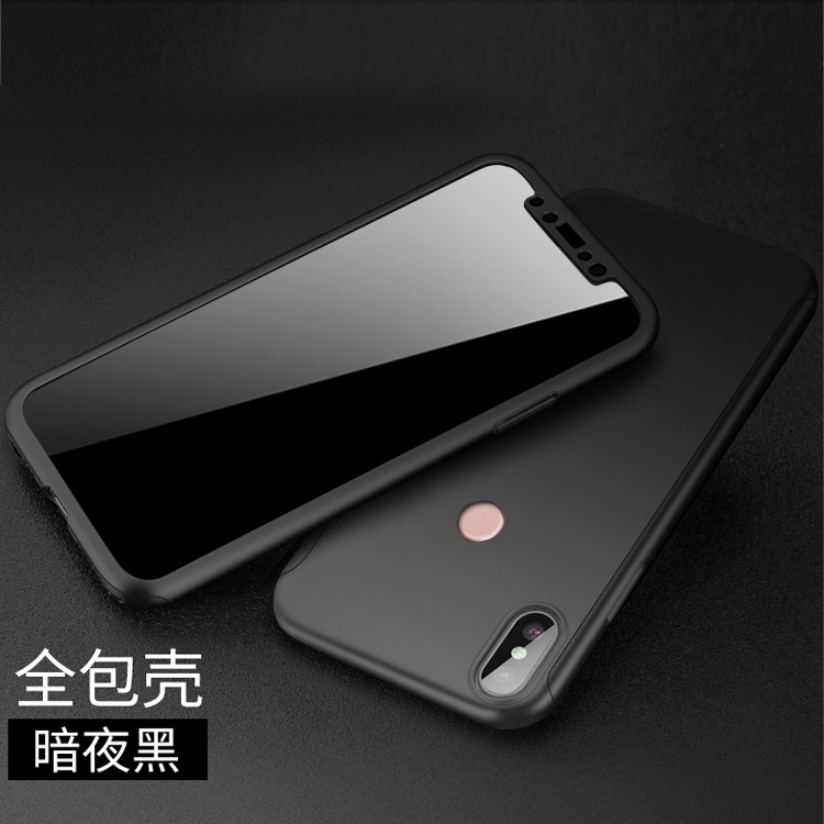 new product 6424f 0eace Redmi Note 5 PRO / Redmi S2 360 Full Protection Case Tempered Glass
