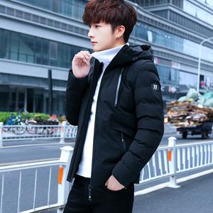 男士外套冬季2018新款韩版潮学生工装棉服冬装棉袄加厚羽绒棉衣男