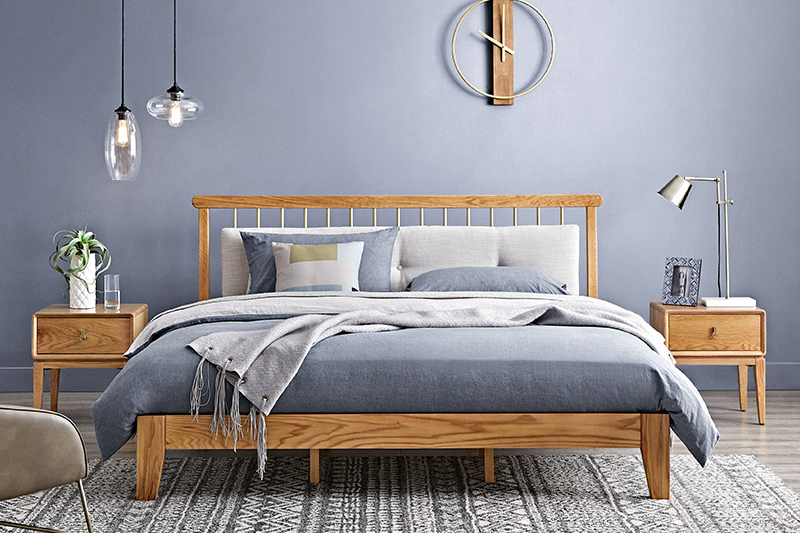 简约大方北欧床,一秒打造高颜值卧室