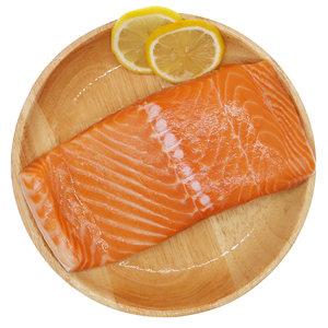 御鲜轩 进口新鲜冰冻三文鱼刺身中段500g生鱼片鲑鱼海鲜日料理