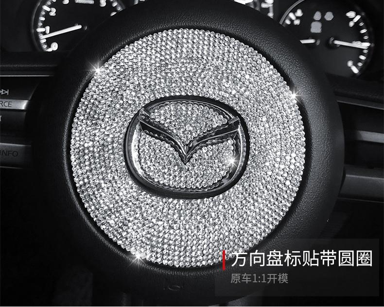 Ốp núm điều chỉnh kim cương Mazda 3 2020-2021 - ảnh 19