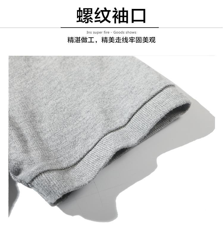 战地吉普 商务休闲Polo衫 100%珠地网纯棉 图6