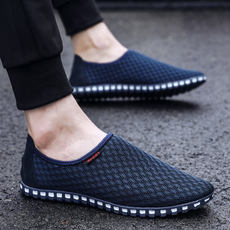 Summer breathable mesh shoes men's mesh shoes summer casual shoes men's new shoes wild shoes Korean version of the tide men's shoes