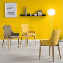 Современный простой нордический стул магазин отели обеденный стол стул кофе зал стул домой мебель спинка ткань стул