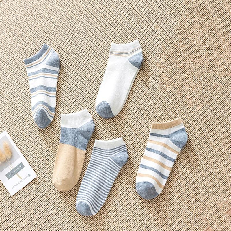 46夏天短袜短筒隐形船袜经典浅口简约日系防滑袜带硅胶情侣夏季
