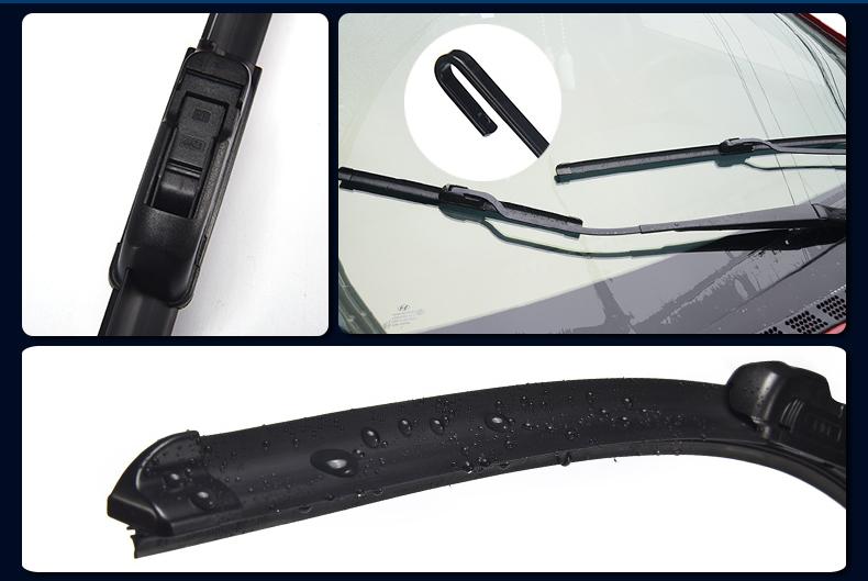 汽车雨刮器无骨通用型雨刷器前雨刮片胶条新款老刮条后雨挂器原装详细照片