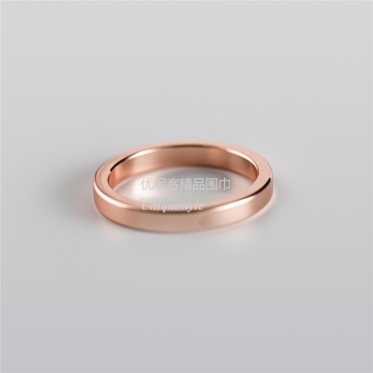 Цвет: Одно кольцо розовое золото 2.1