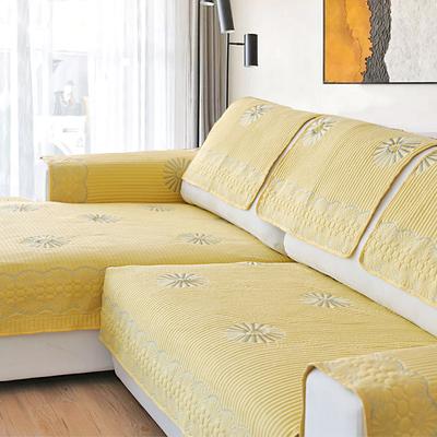 北欧沙发垫布艺四季通用棉坐垫子防滑简约冬季万能沙发套罩巾全包