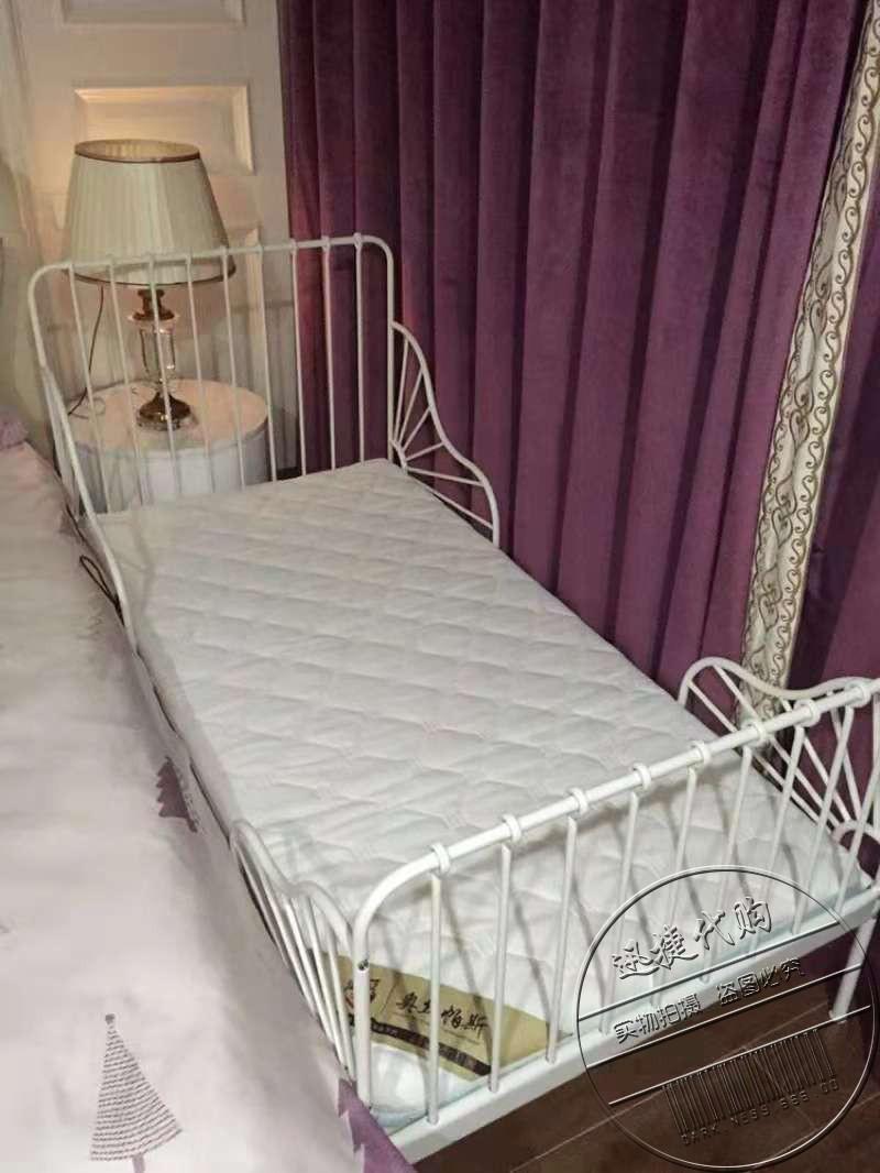 Nệm Milong mở rộng cho trẻ em có thể được gỡ bỏ và giặt 80 * 200cm3 thảm cọ phân đoạn có thể thu vào được - Nệm