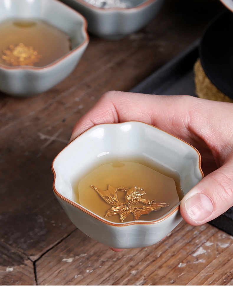 Your up cyan tea day silver master cup Your porcelain sample tea cup personal tea cups sliced open single CPU, large cups
