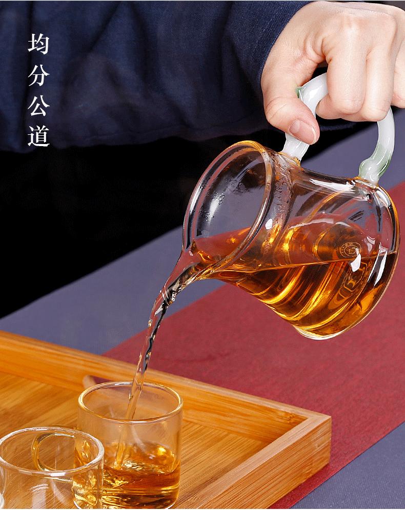 Electric TaoLu boiled tea glass Electric heating steam steaming tea set automatic steam pot home cooking tea stove