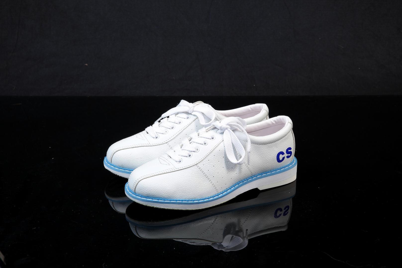 Специальное предложение 2018 полный год белый боулинг обувной подходит для мужчин и женщин новичок резерв CS-1-01