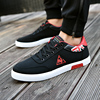 Winter men's shoes England canvas shoes students black flat shoes wild sports casual tide shoes Korean version of the trend shoes