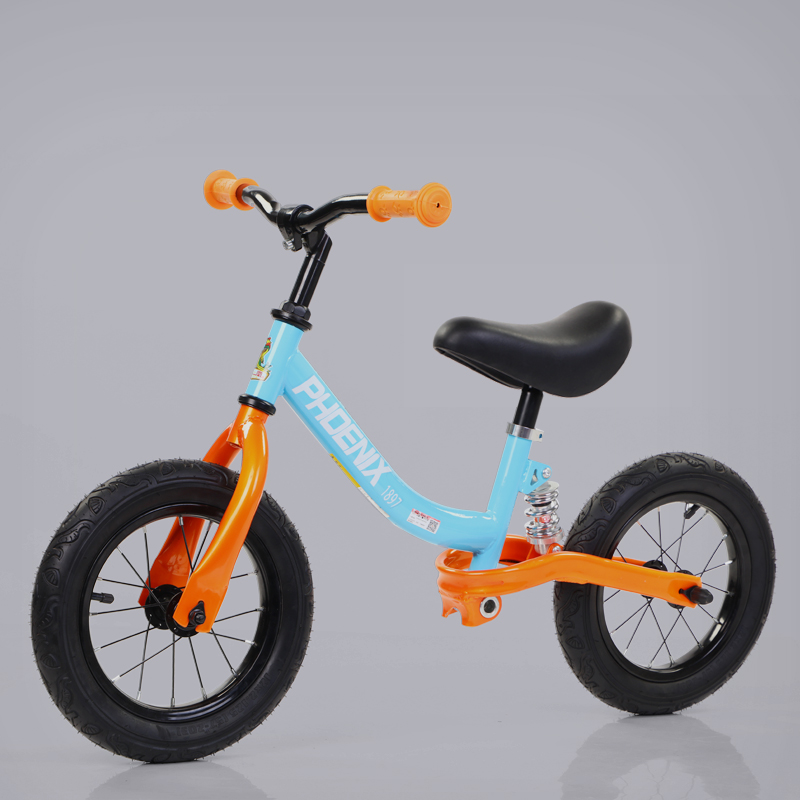 Blue Orange [High Carbon Steel Frame] Shock Absorbing Wheel