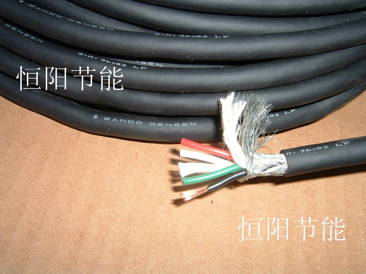 Usd 678 7 2 Imported Wire And Cable Japan Bando 4 Core 0 5 Square China Electric Electrical Copper Wires Shielded