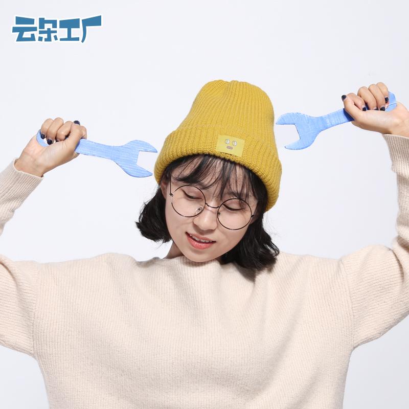 云朵工厂秋冬新款毛线帽
