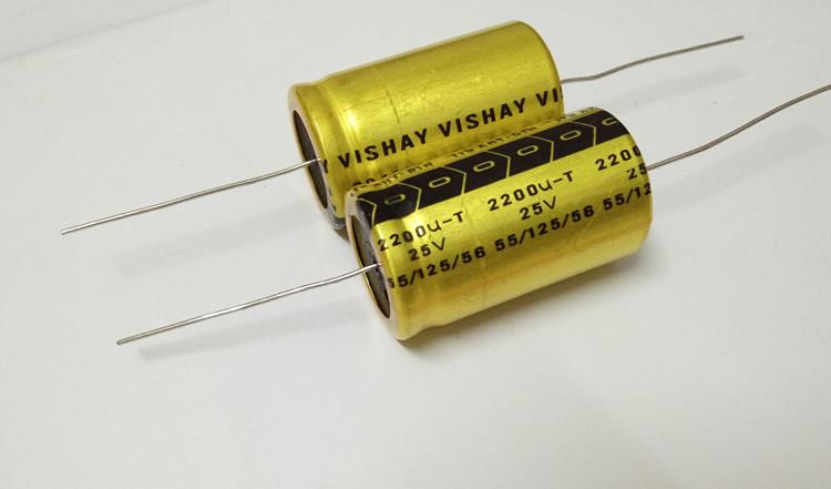 VISHAY Philips BC standard BC1238 tonic audio capacitor 25v2200uf axial  electrolytic capacitor
