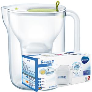 碧然德brita家用滤水壶净水器Style设计师系列3.5L净水壶一壶7芯
